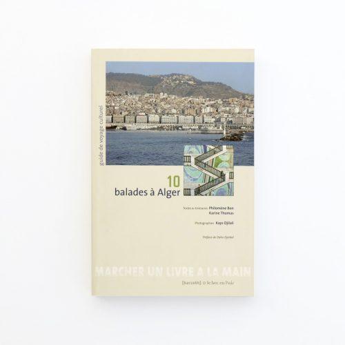 Couverture du livre 10 balades à Alger