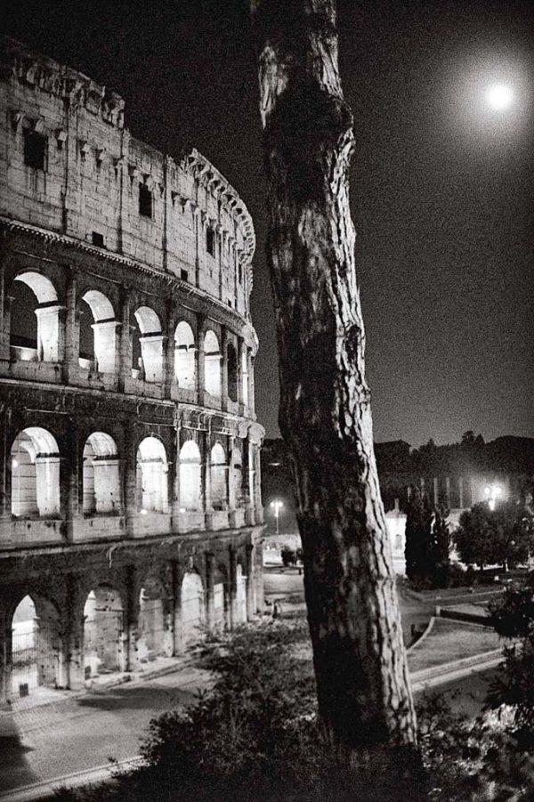 Photographie extraite du livre Rome, par-delà les chemins