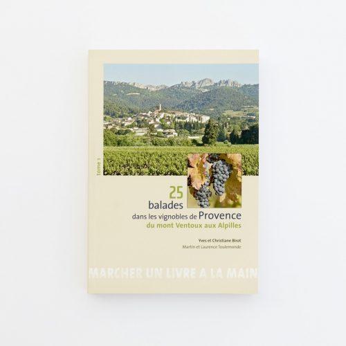 Couverture du livre 25 balades dans les vignobles de Provence - tome 1