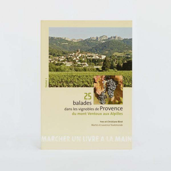 Couverture du livre 25 balades dans les vignobles de Provence