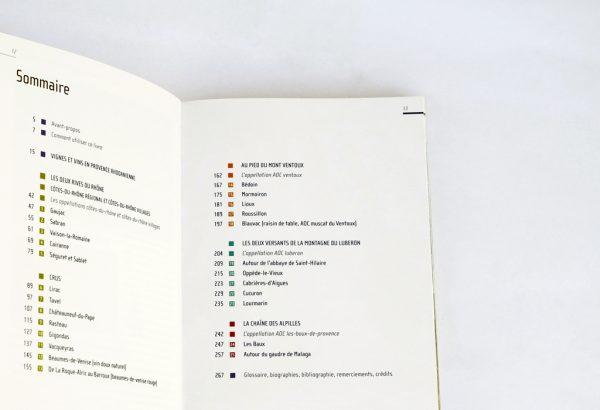 Image extraite du livre 25 balades dans les vignobles de Provence