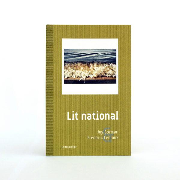 Couverture du livre Lit national
