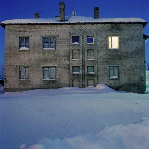 Photographie extraite du livre Solovki, la bibliothèque perdue