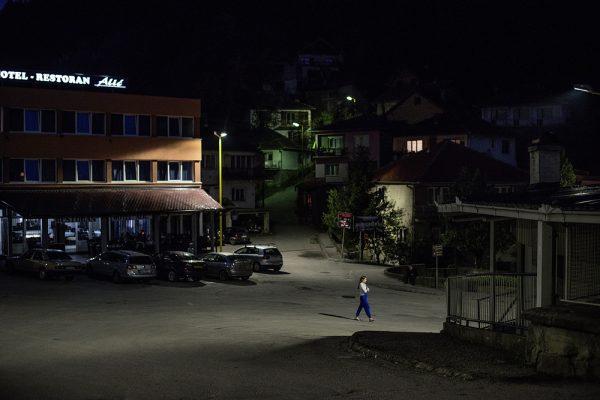 Photographie extraite du livre Srebrenica, nuit à nuit
