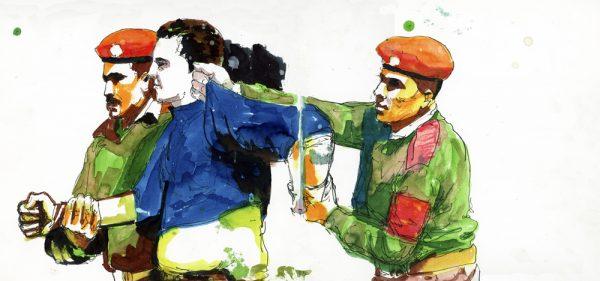 Dessin extrait du livre Génération Tahrir