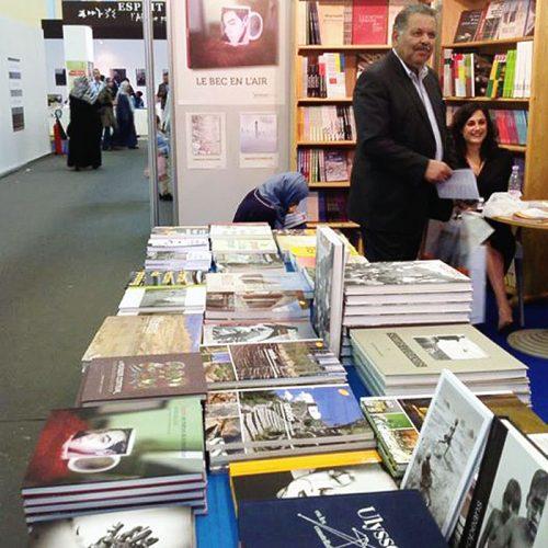 Le Bec en l'air au Salon du livre d'Alger en 2014