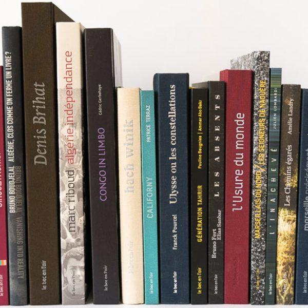 Les livres récents du Bec en l'air / 1024 px
