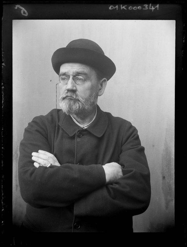 Émile Zola Autoportrait au chapeau.