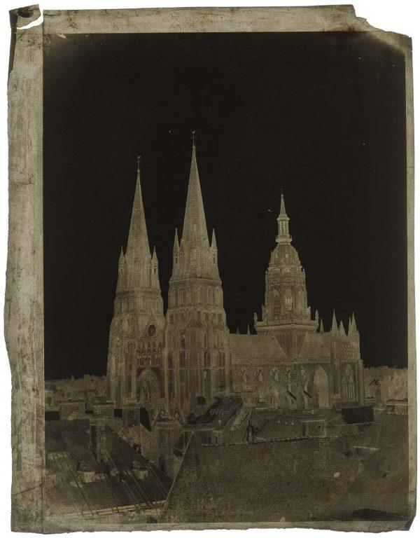 A. Berthot Cathédrale Notre-Dame de Bayeux (Calvados), v. 1855.