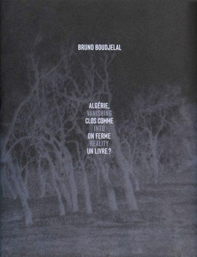 Couverture du livre Algérie, clos comme on ferme un livre, de Bruno Boudjelal