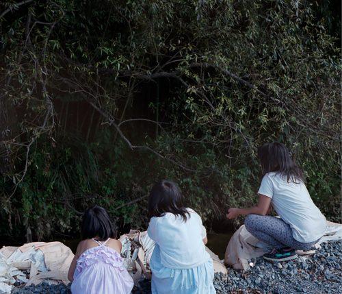 Photographie extraite du livre Out of Sight, de Delphine Parodi et Yoko Tawada